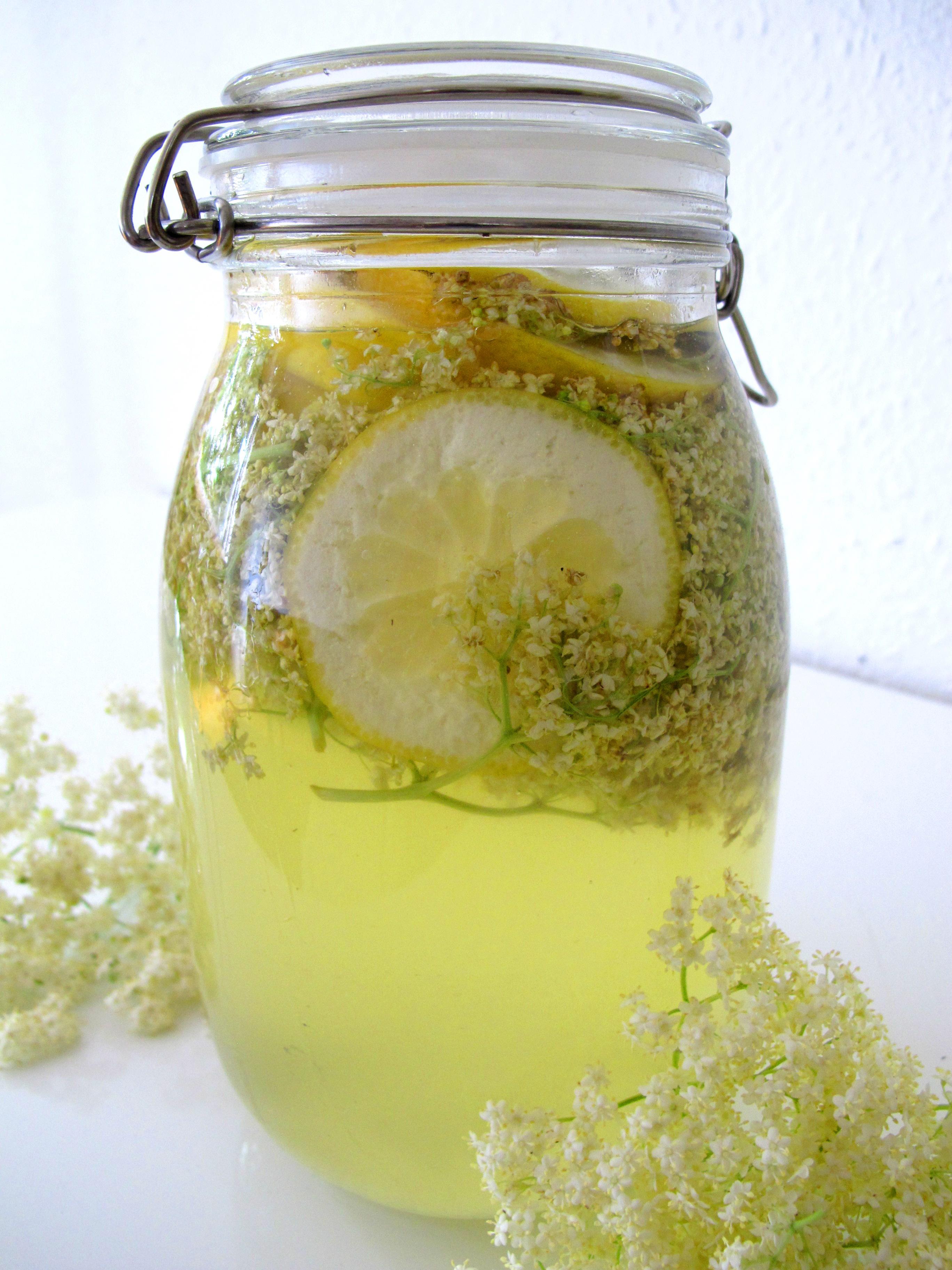 How To Make Elder Flower Cordial Drink
