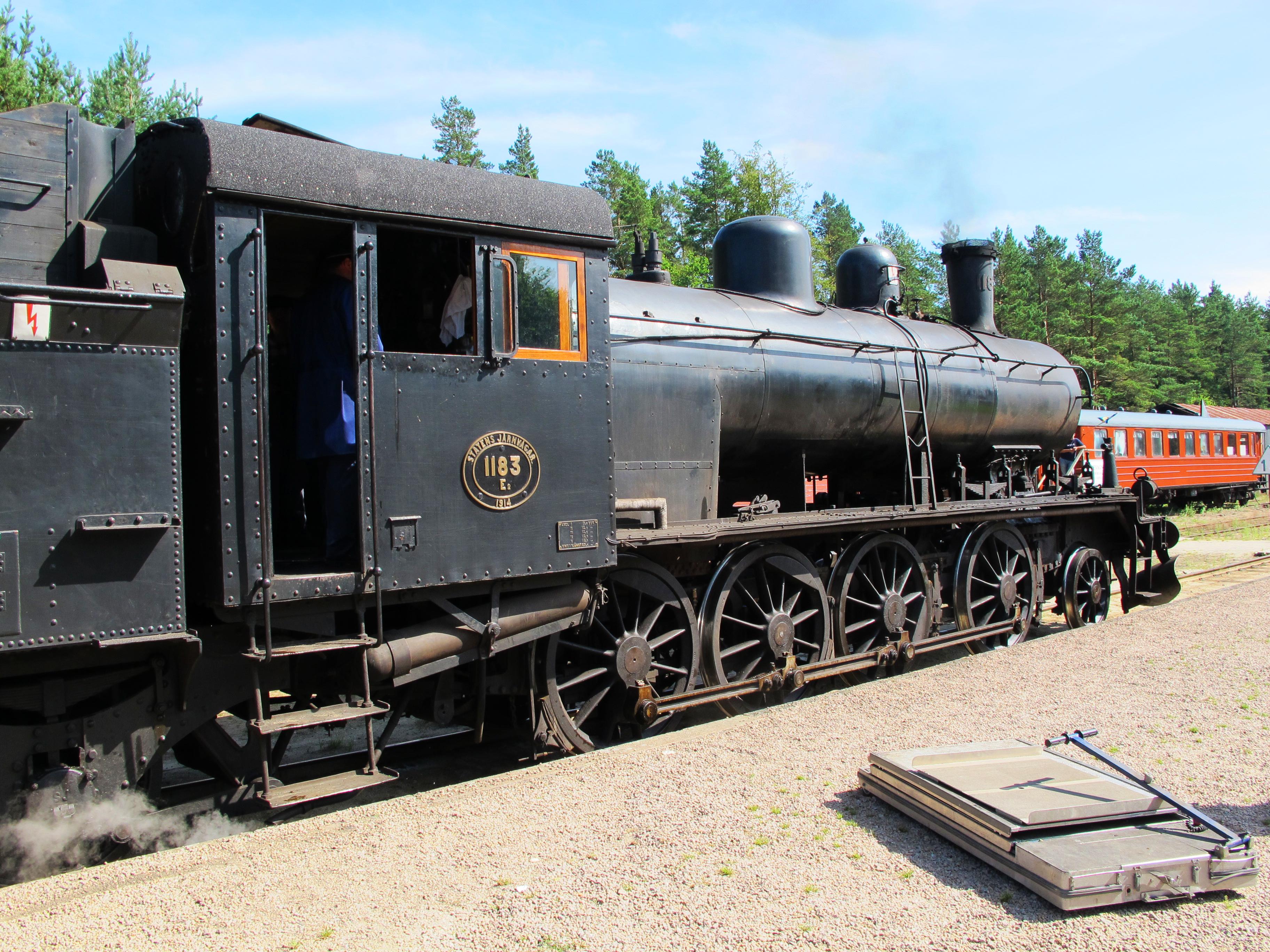 Brösarp steam train (Brösarp Ångtåget) | semiswede