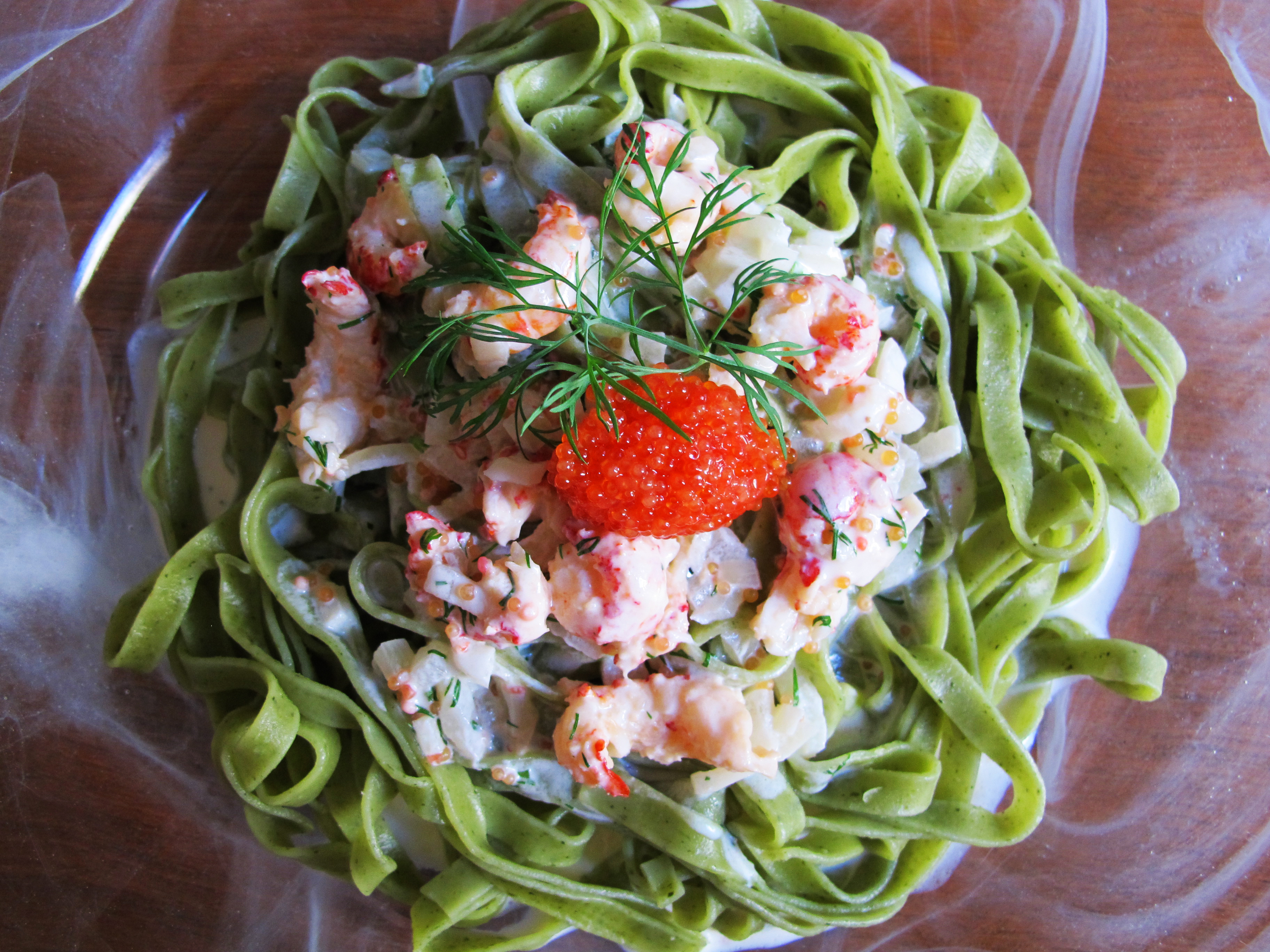 Creamy Crawfish Pasta Recipe — Dishmaps