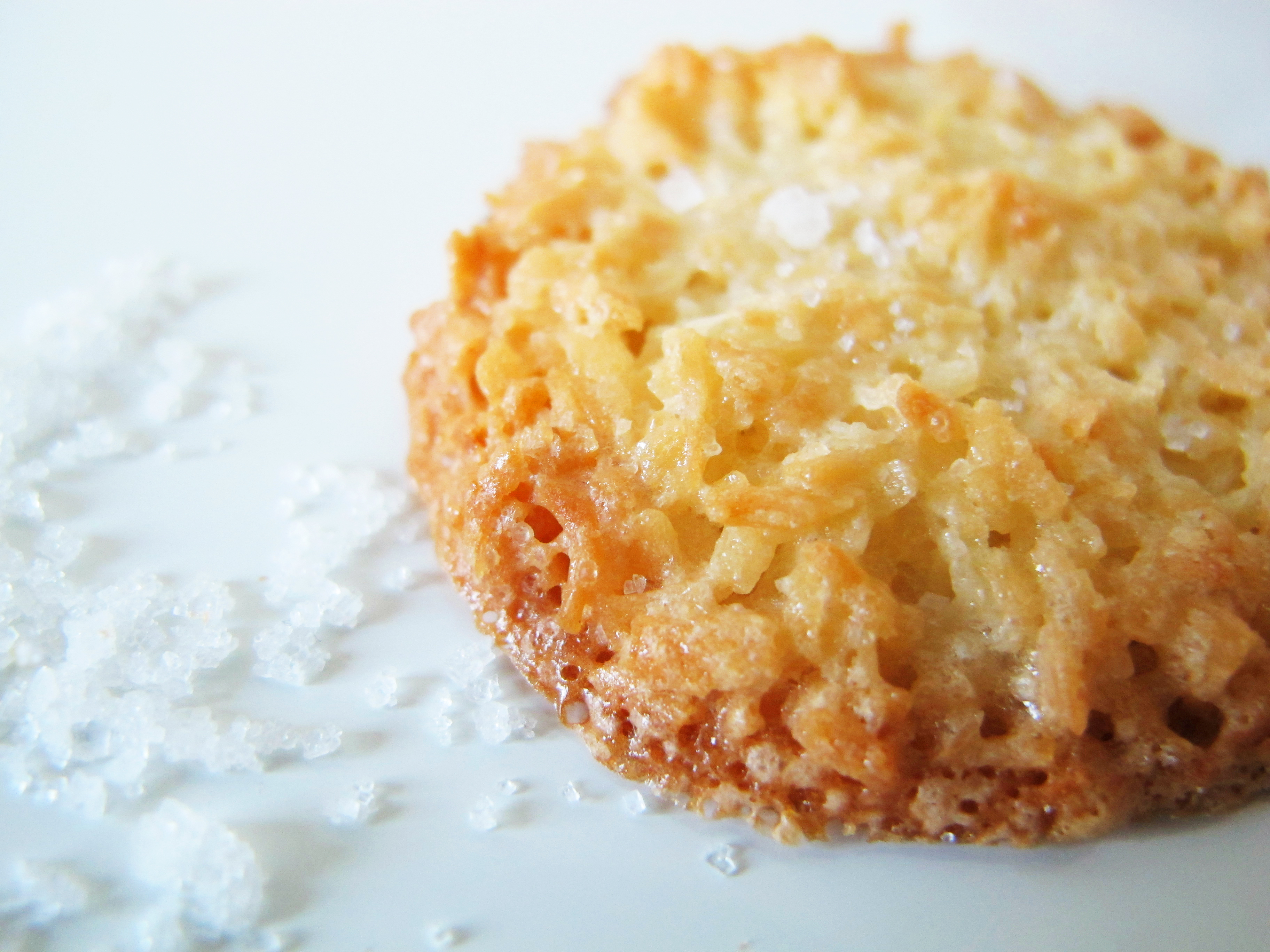 Coconut cookies with fleur de sel adapted from Marcus Samuelsson's ...